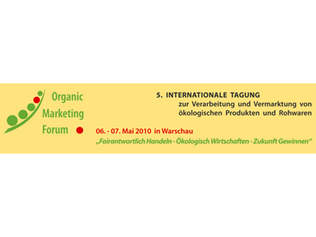 Organic Marketing Forum 2010