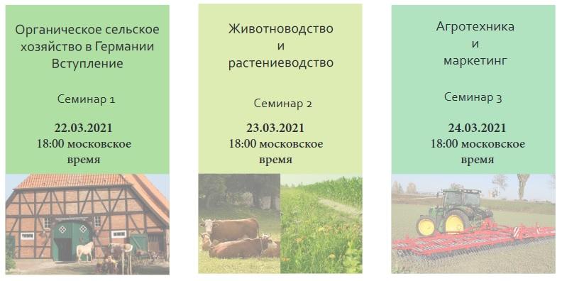 Веб-семинары про органическое сельское хозяйство